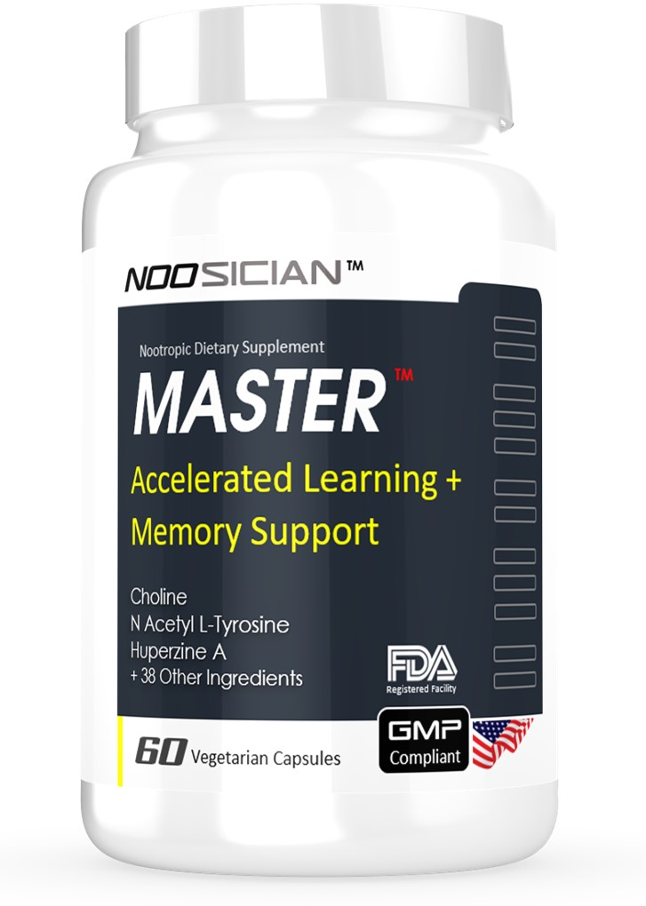 Master memory supplement bottle